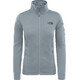 The North Face W's Kyoshi Full Zip Jacket Monument Grey Dark Heather
